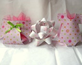 Special Order for 46 Plum and Lavender Diaper and Onesies Baby Shower Favor for Nastasha
