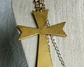 Vintage Cross - RESERVED for Judith of Rustycuts