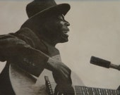 Blues Musician Skip James Original painting