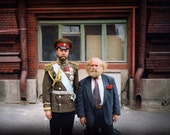 Red Square Gentlemen Fine Art Photograph, Moscow - 4x6