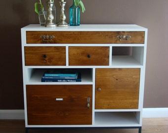 Vintage dresser white as Highboard
