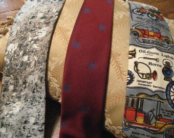 Vintage ties including Rivetz and Rooster.  Lot.  Sale.  Mad men.