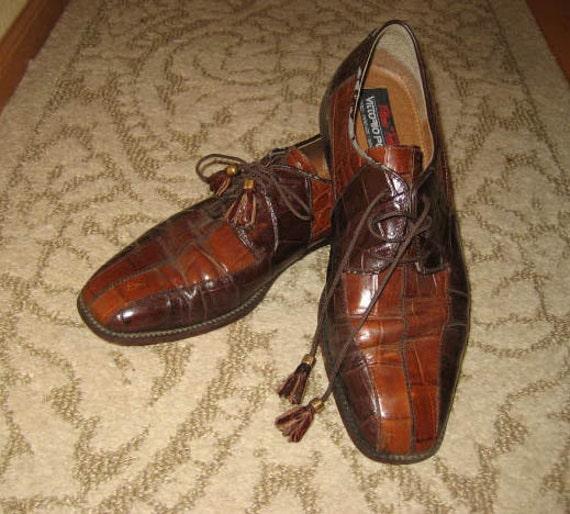 Mens vintage vittorio Ponti shoes size 9D.