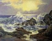 Oil Painting - Seascape