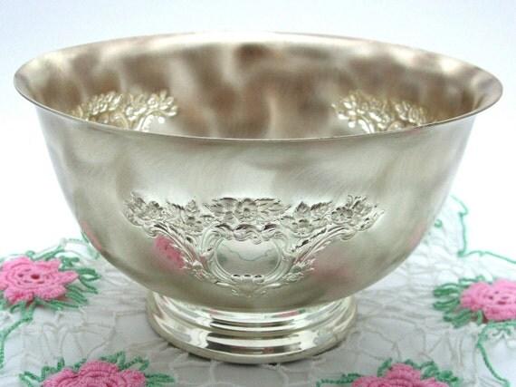 Brushed Metal Bowl WMF-Ikora Vintage