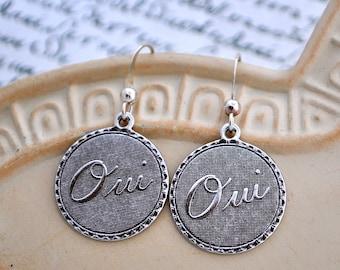 oui French earrings