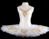 White classical professional performance tutu