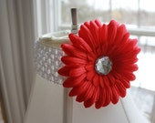 4th of July Gerber Daisy Headband