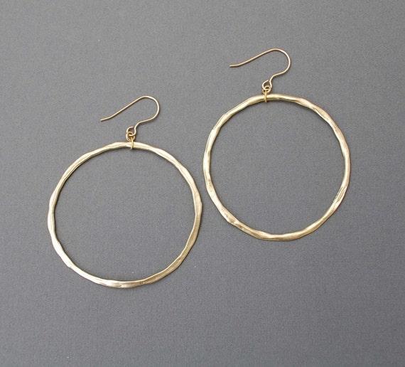 Classic Gold or Silver Hoop Earrings