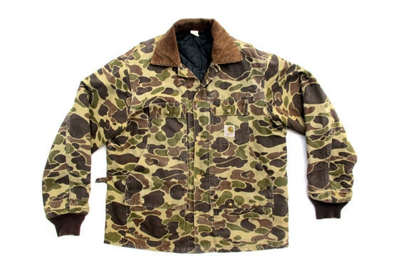 RESERVED FOR JOHNNY - Vintage Camo Carhartt Jacket