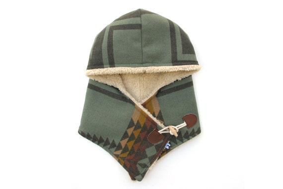 Pendleton Wool Toggle Hood - Number 8
