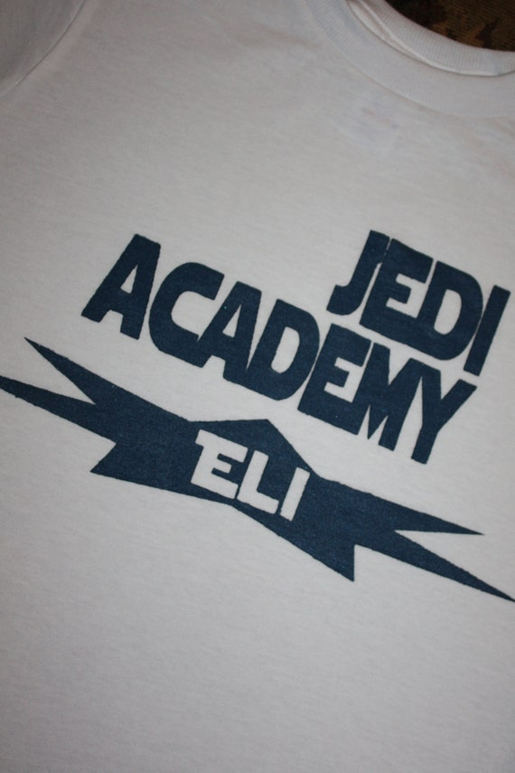 Jedi Academy Personalized Hand Painted T-shirt