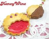 Strap - Jam & Chocolate cookies