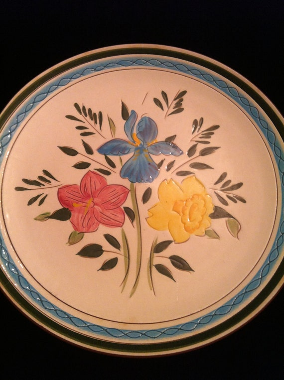 Vintage Stangl Country Garden 10 inch Dinner Plate