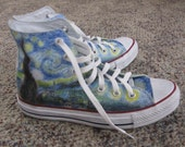 Starry Night Shoes (Reserved for Kay)