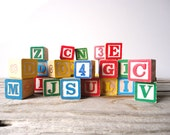 Large Set of Colorful Alphabet Blocks