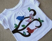 Completely Custom Applique Designed Tee