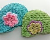 Girly Infant Newsboy Hats
