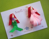 Ariel Little Mermaid inspired by Disney princess ribbon sculpture hair clip.....Special Edition
