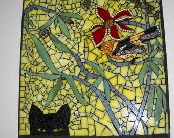 ON SALE       I Spy Kitty Mosaic