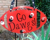 Georgia Bulldogs Football Wall Hanging