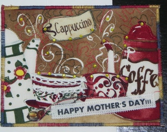 Mother's Day Card for Coffee Lovers