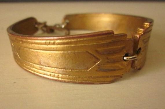 Vintage Jointed Bracelet Edwardian Victorian Renaissance