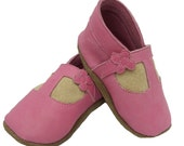 Baby Girl Shoes, Mini Mary Janes with Flower detail. Different colours and styles available.