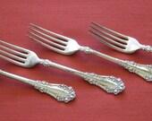 Silverplate forks by 1847 Rogers Bros -  Berskshire 1897 pattern