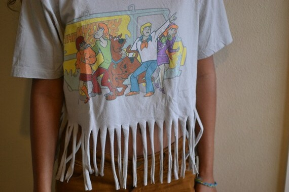 Scooby Doo Fringed t-shirt