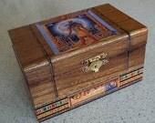Egyptian Anubis Trinket Box with FREE GIFT