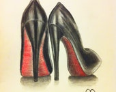 Louboutin's Ofcourse Greeting Cards
