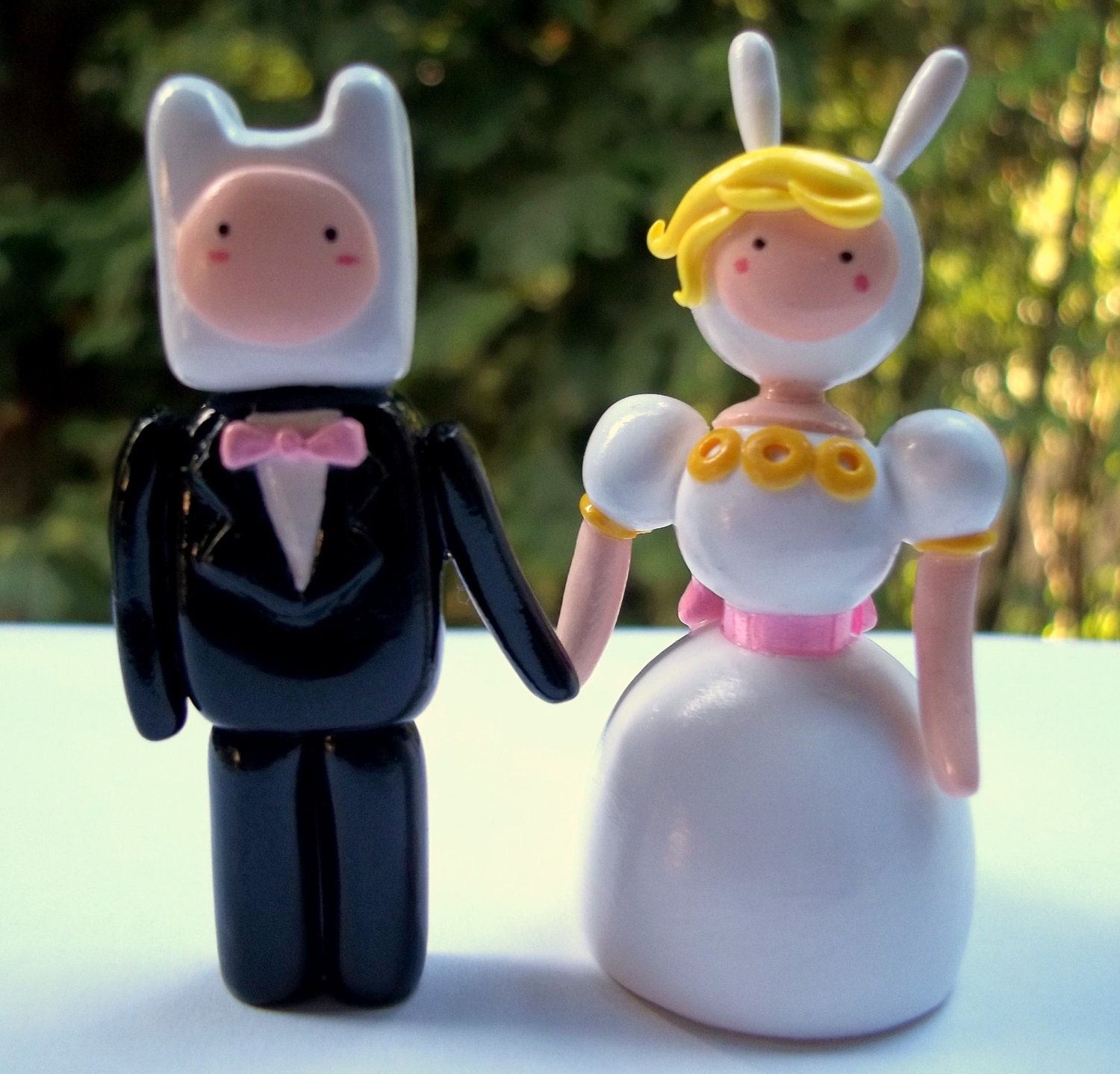 adventure time wedding cake mini adventure time wedding cake toppers 10543