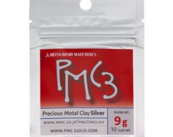 9g Mitsubishi PMC3 Precious Metal Clay x 10 packages