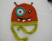 Crocheted Monster Hats