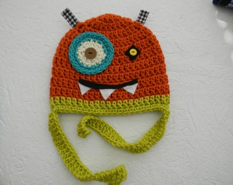 Crocheted Monster Hats