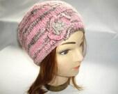 Pink Ripple Hat
