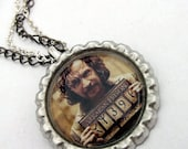 Harry Potter Necklace - Sirius Black - Bottle Cap jewelry