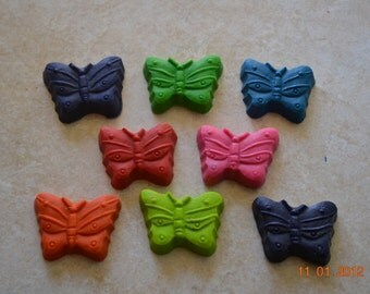 Recycled Crayon Party Favor - Butterfly 8 count