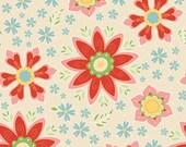 Cotton Fabric cream / Riley Blake - Cream Delighted Main