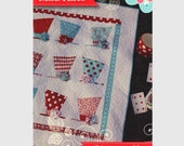 Quilt Pattern - Quilted Fish pattern - Mad Hats