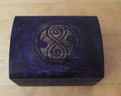 Hand painted old style Rassilon Chest (Doctor Who)
