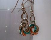 Summer Sands Mobius Earrings