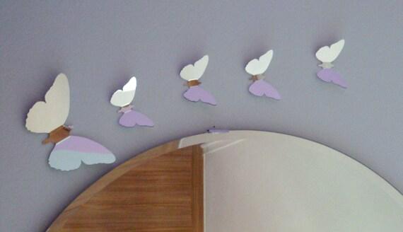Mirror butterflies set of 5