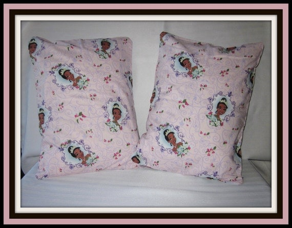 The Princess and the Frog Small Pillowcases