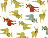 30262 12 Jovial Christmas Fabric by Basic Grey for Moda / Quality 100 % Cotton Quilt Fabric / 1 Half Yard