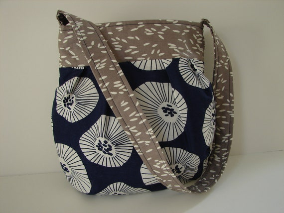 Scattered Blooms Bag in Lotta Jansdotter Echo