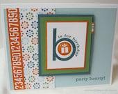 Handmade Birthday Card - Beautiful Paper Crafts