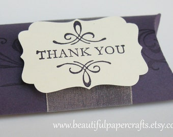 Purple Wedding Favor Boxes -Wedding Table Decorations-Made To Order
