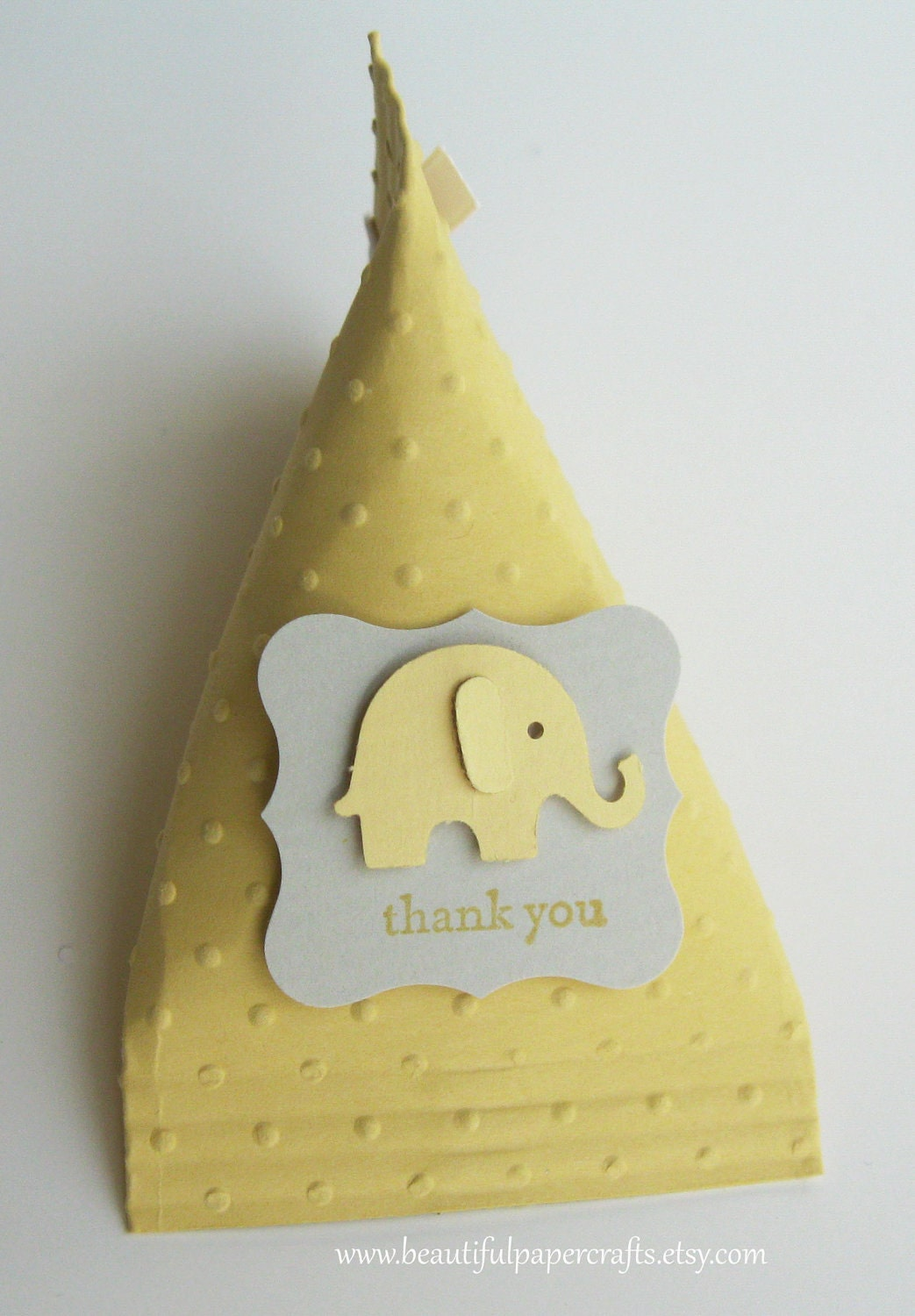 Baby Shower Favors Yellow ~ Gray and yellow elephant baby shower favors